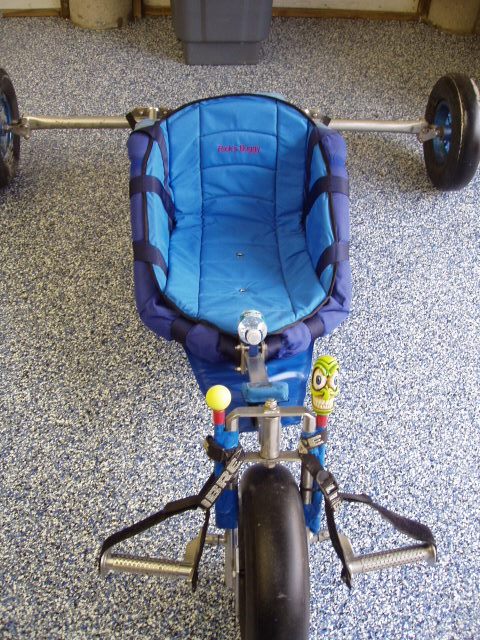 New Carriage Seat ~ Power kite forum new buggy seat and splash guard